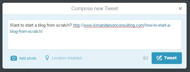Adding a Link To a Tweet