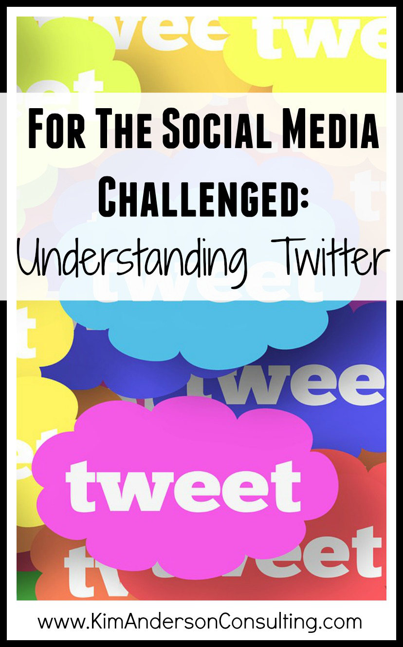 For The Social Media Challenged, Understanding Twitter