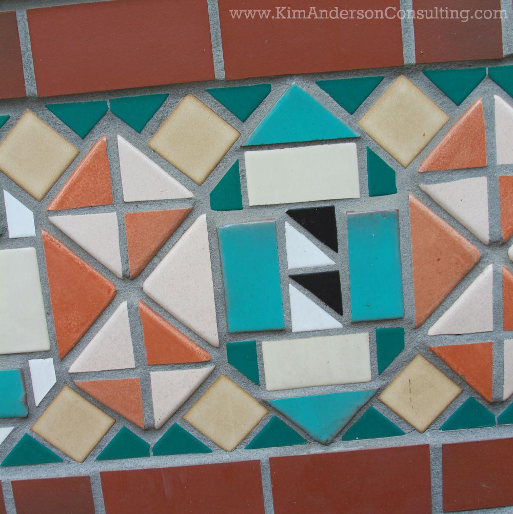 Asheville Tile Wall