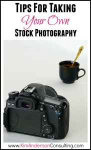 Tips for taking your own stock photography